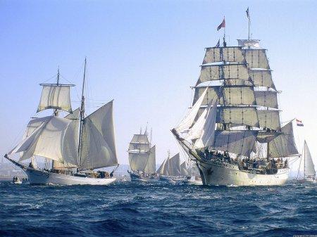 Современные регаты для разных судов