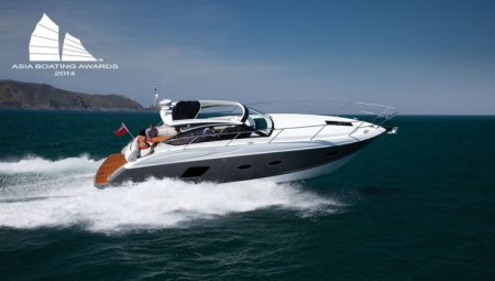 **Очередная победа моторной яхты Princess V39