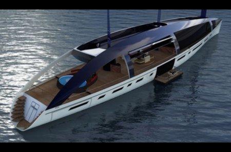 Экологичные яхты-гибриды: The Soliloquy и Ethereal