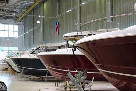 Открытие крупнейшего экспозиционного зала катеров и яхт в Москве