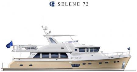 Траулерная яхта SELENE 72